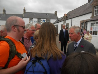 Chatting with Prince Charles