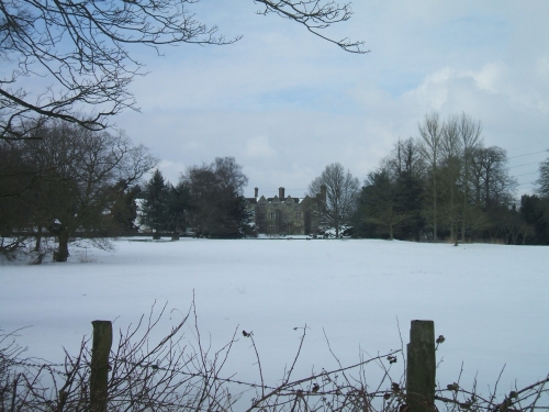 Winter Scene - Benthall Hall