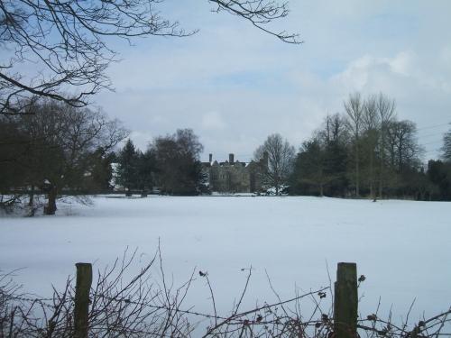 Winter Scene - Benthall Hall